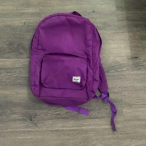 Purple Herschel Backpack
